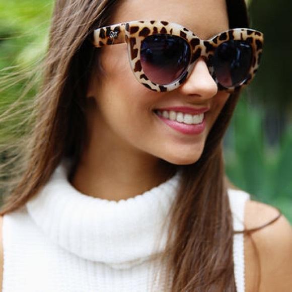 0b2393c2213 Quay x Shay Jinx Sunglasses In Desert Leopard!
